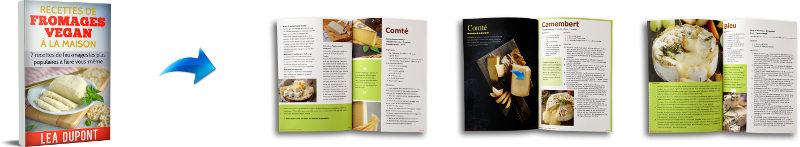 Livre de recettes de cuisine fauxmage vegan en pdf